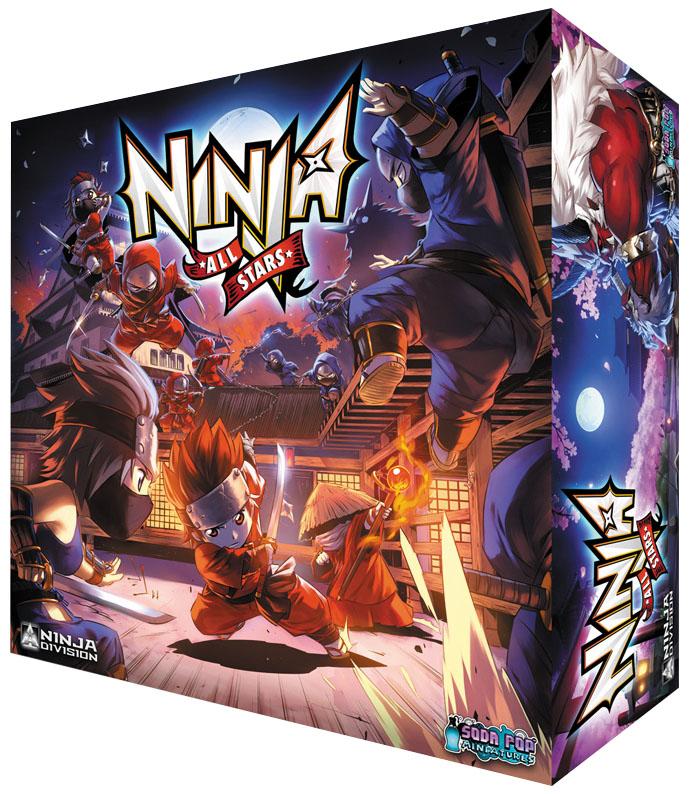 Ninja All-stars Box Front