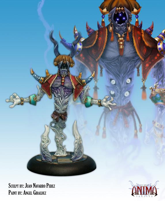 Anima Tactics: Dark Faction - Al Djinn Box Front