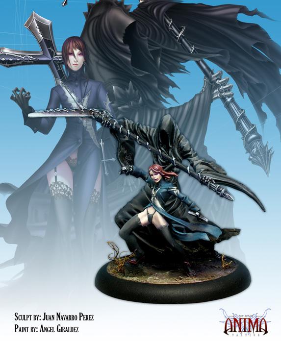 Anima Tactics: Dark Faction - Maria Box Front