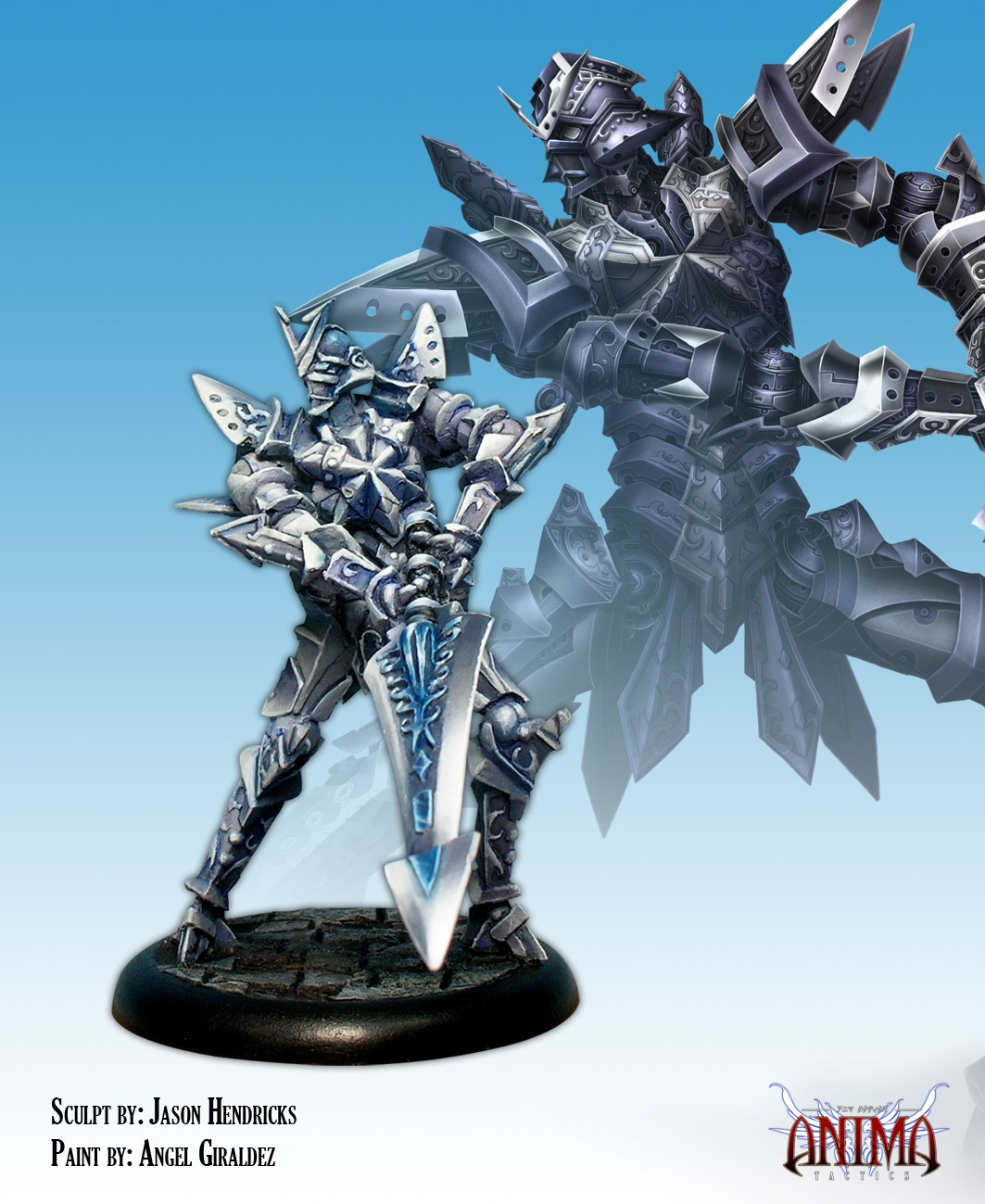 Anima Tactics: Neutral Faction - Gear Mk.theurgia Box Front