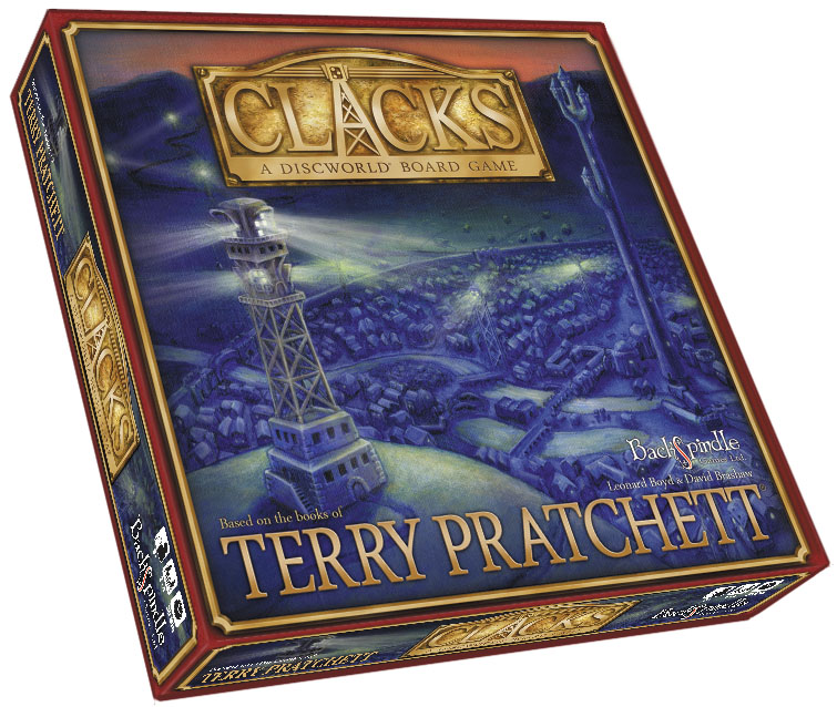 Clacks: A Discworld Board Game Box Front