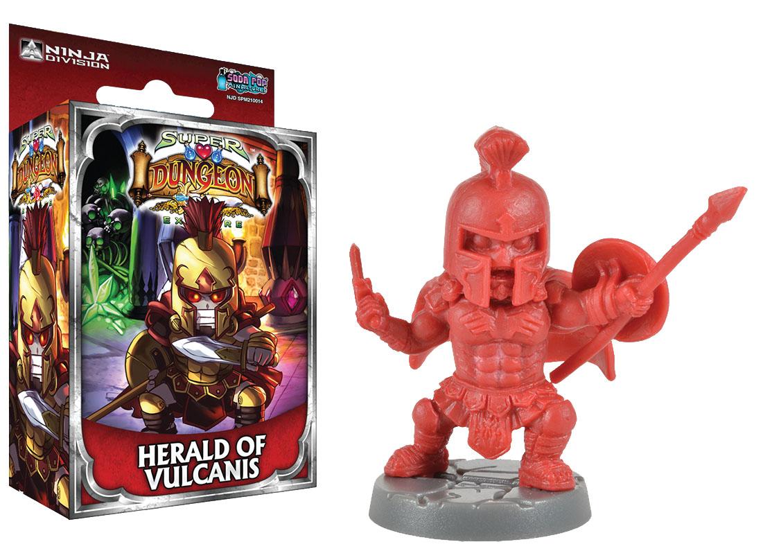 Super Dungeon Explore: Herald Of Vulcanis Box Front