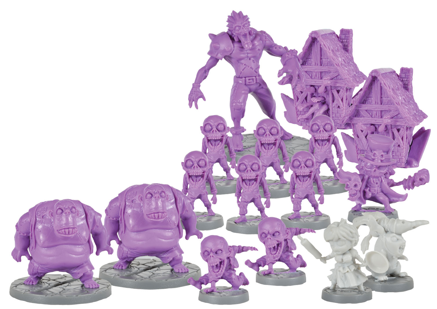 Super Dungeon Explore: Stilt Town Zombies Warband Box Front