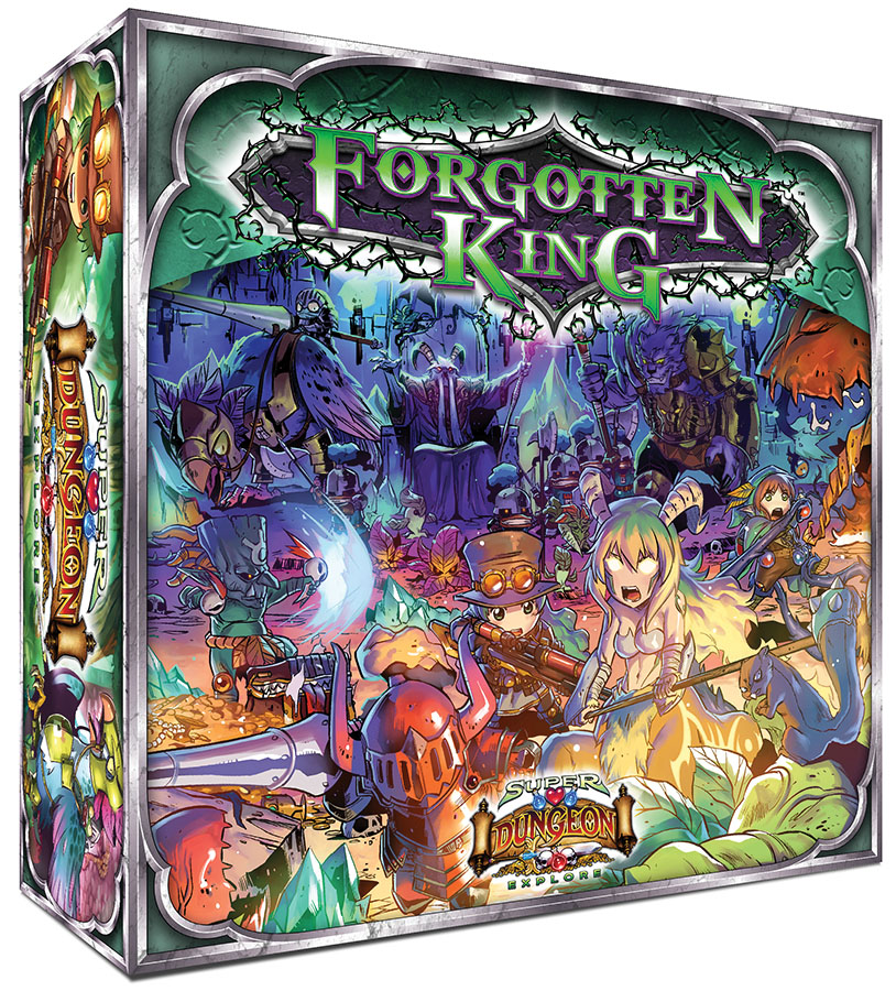 Super Dungeon Explore: Forgotten King: Core Box Box Front