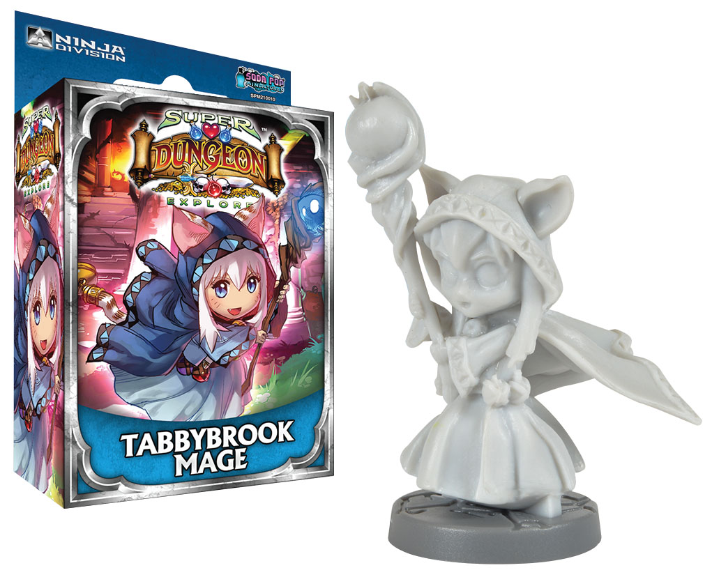 Super Dungeon Explore: Tabbybrook Mage Box Front