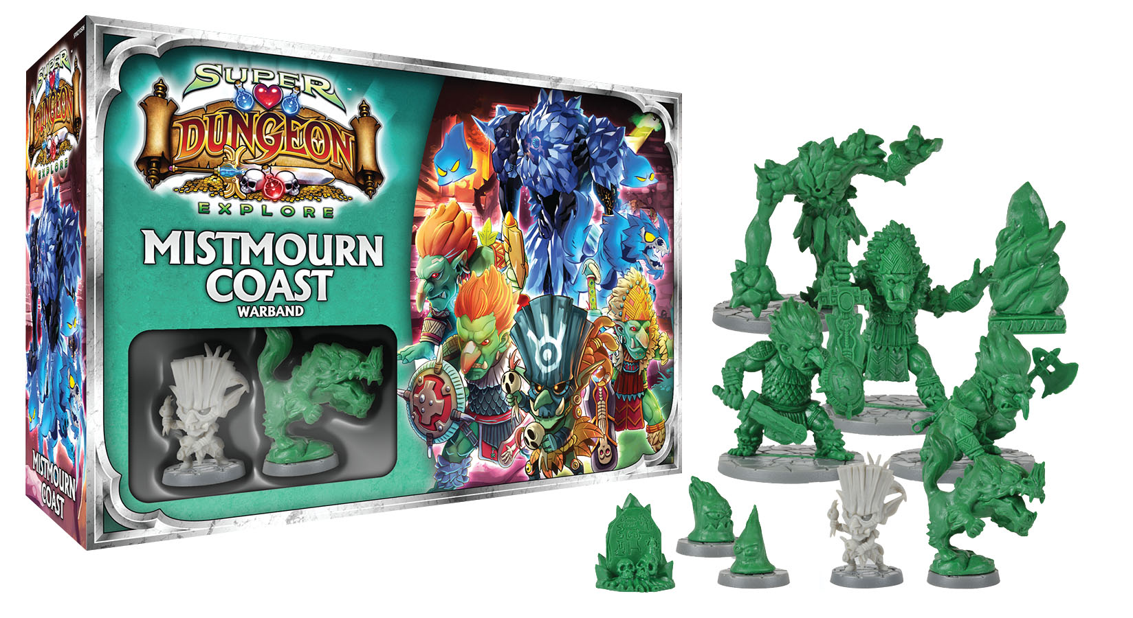Super Dungeon Explore: Mistmourn Coast Box Front