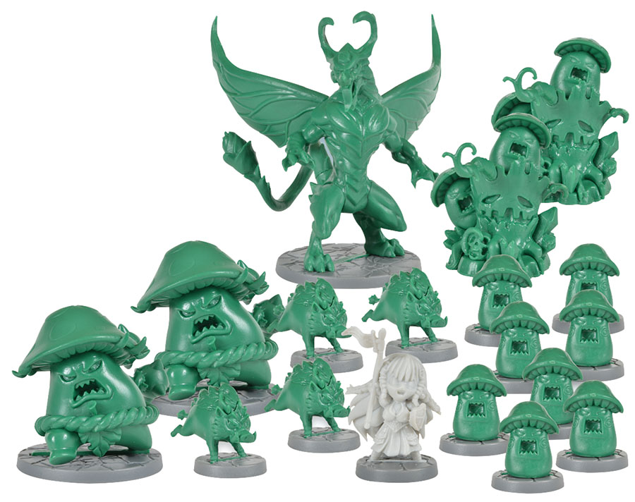 Super Dungeon Explore: Emerald Valley Warband Box Front