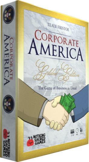 Corporate America: Gilded Edition Box Front