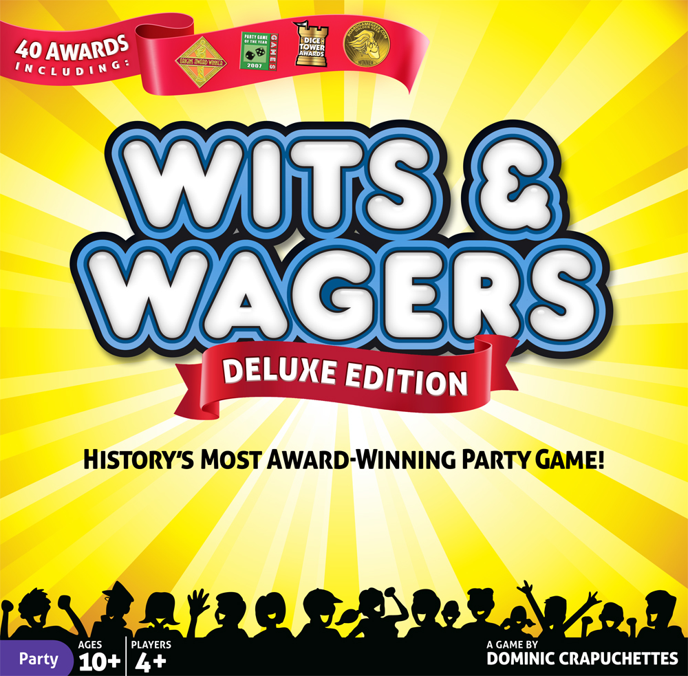 Wits And Wagers: Deluxe Box Front