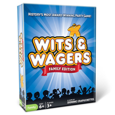 Wits And Wagers: Family Box Front