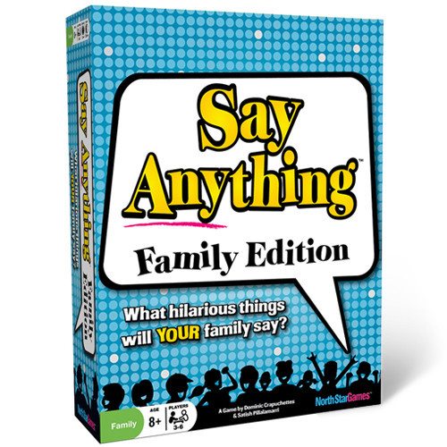 Say Anything: Family Box Front