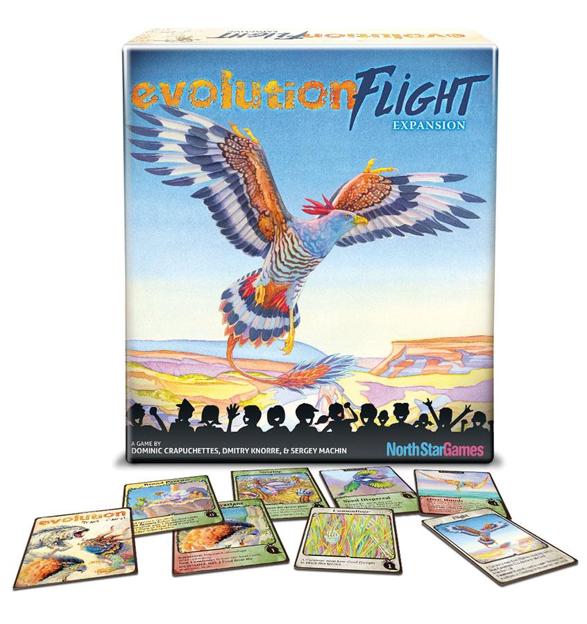 Evolution: Flight Box Front