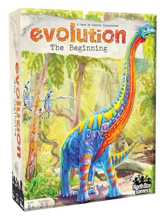 Evolution: The Beginning Box Front