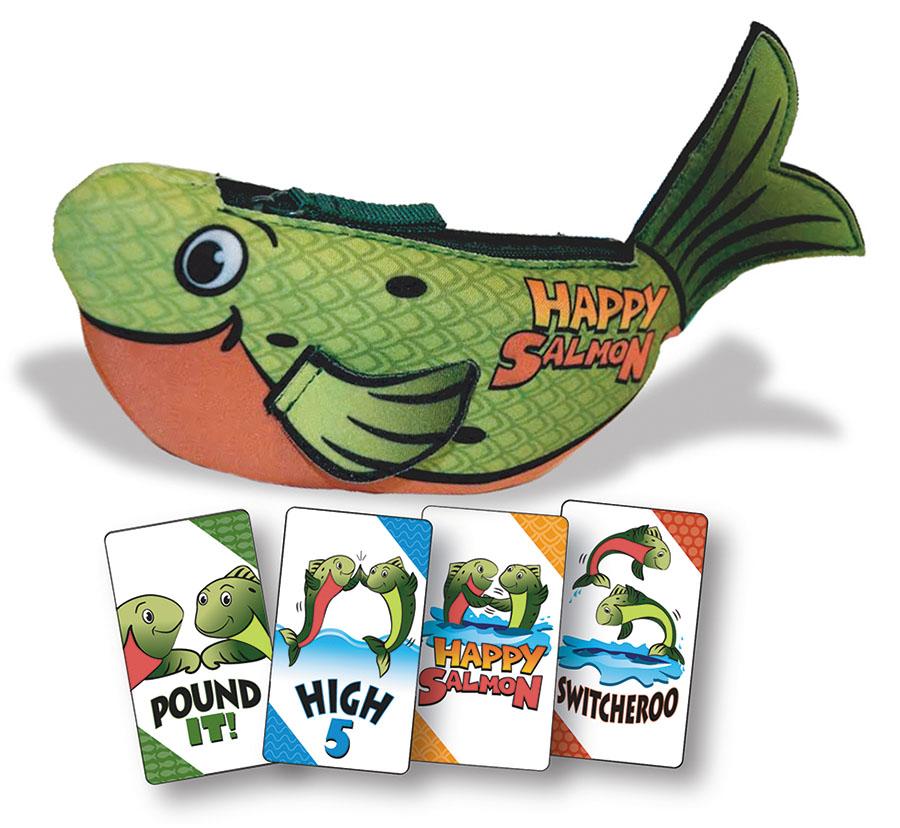 Happy Salmon - Green (display 4) Box Front
