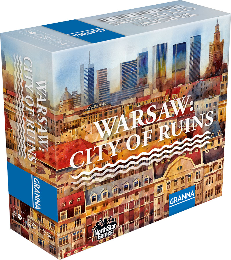 Warsaw: City Of Ruins Game Box