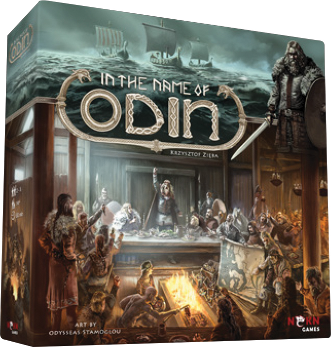 In The Name Of Odin Box Front
