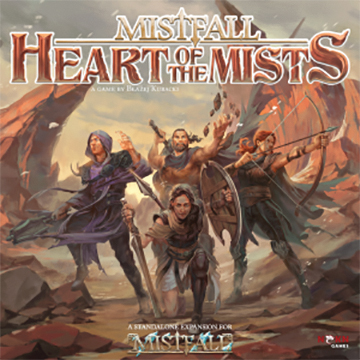 Mistfall: Heart Of The Mists (stand Alone And Expansion) Box Front