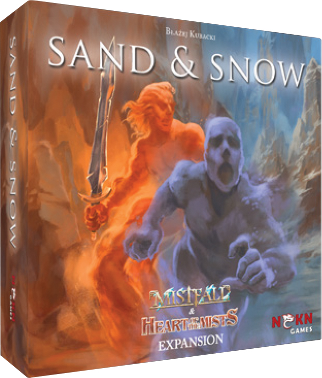 Mistfall: Sand And Snow Expansion Box Front