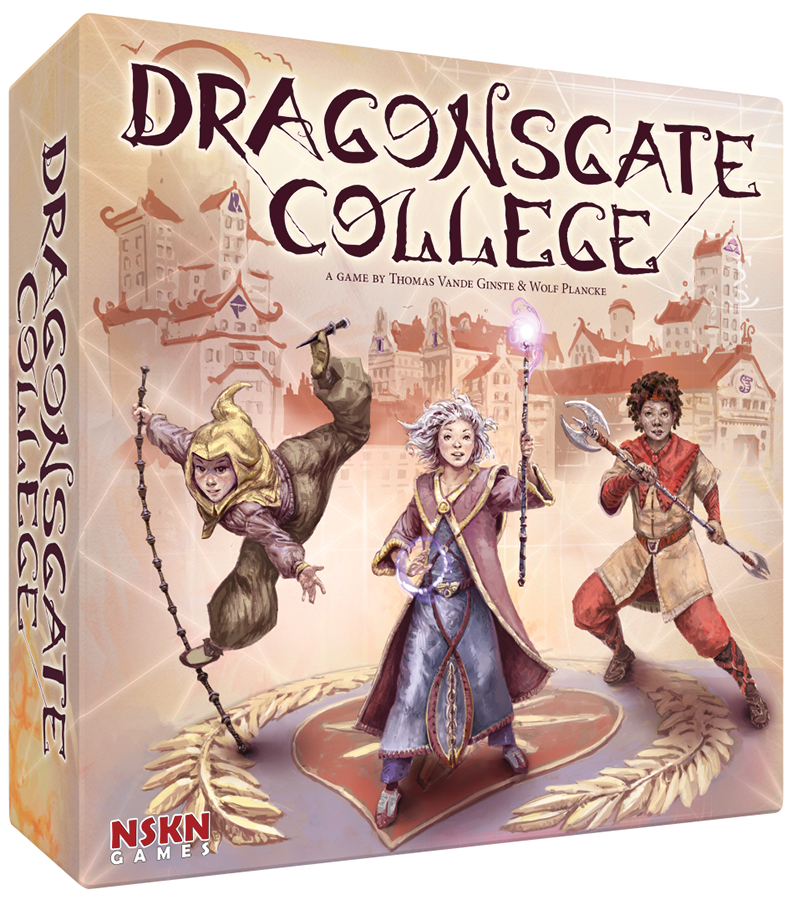 Dragonsgate College Box Front