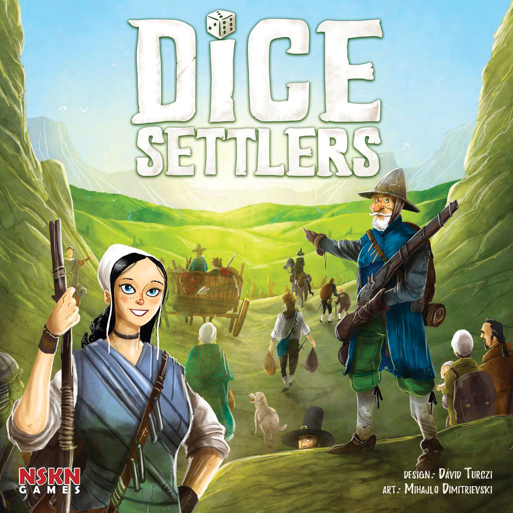 Dice Settlers Game Box