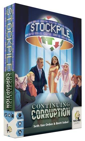 Stockpile: Continuing Corruption Expansion Box Front