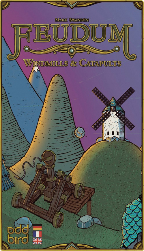 Feudum: Windmills & Catapults Expansion Box Front
