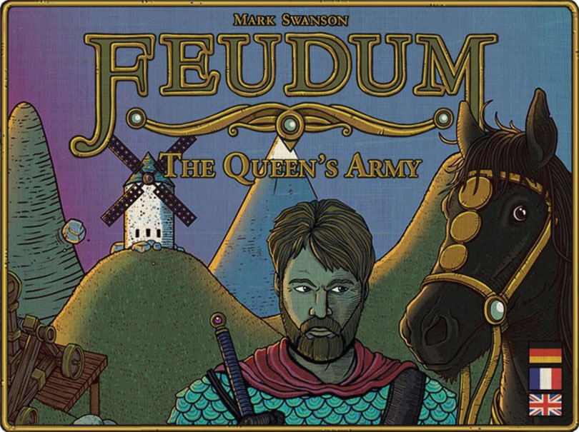 Feudum: The Queen`s Army Game Box