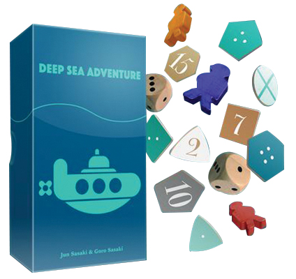 Deep Sea Adventure Box Front
