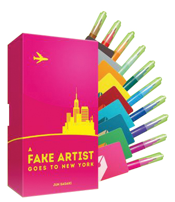 A Fake Artist Goes To New York Box Front