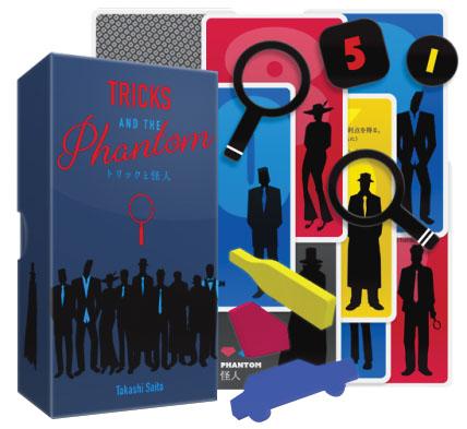 Tricks And The Phantom Game Box