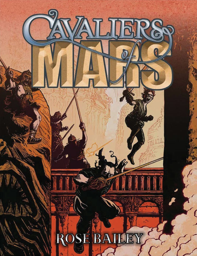 Cavaliers Of Mars Game Box