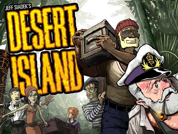 Desert Island Box Front