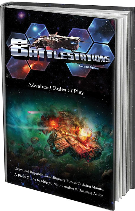 Battlestations: 2nd Edition Rules Compendium Box Front