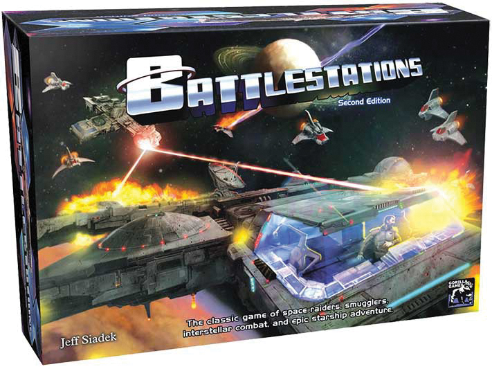 Battlestations: Second Edition Box Box Front