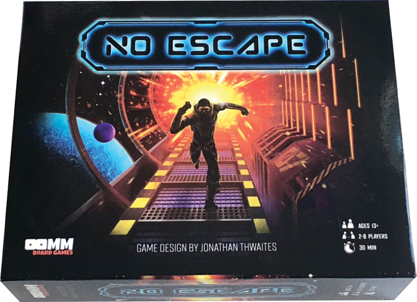 No Escape Game Box