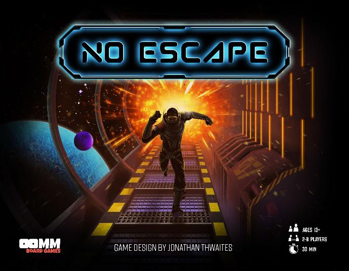No Escape: Salvation Game Box