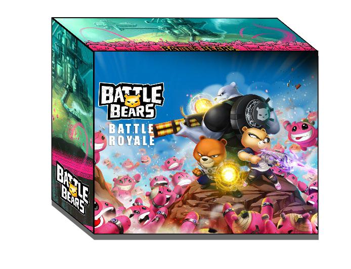 Battle Bears Game Box