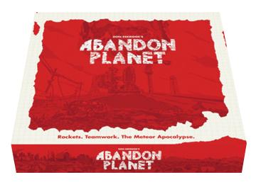 Abandon Planet Box Front
