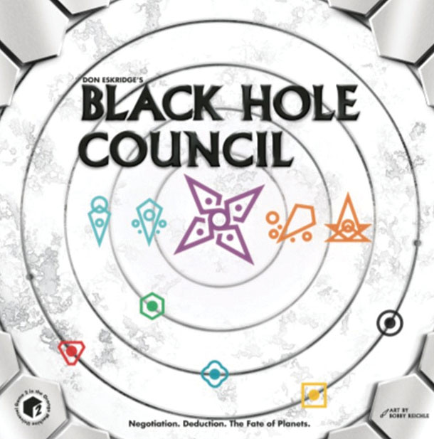 Black Hole Council Game Box