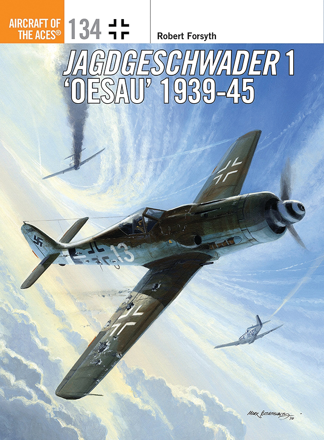 Jagdgeschwader 1 Oesau Aces 1939-45 Box Front
