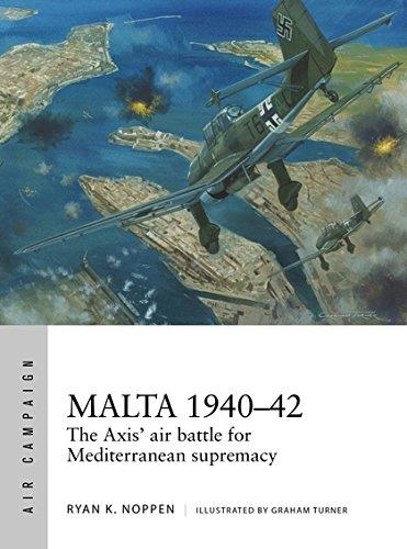 Malta 1940-42: The Axis Air Battle For Mediterranean Box Front
