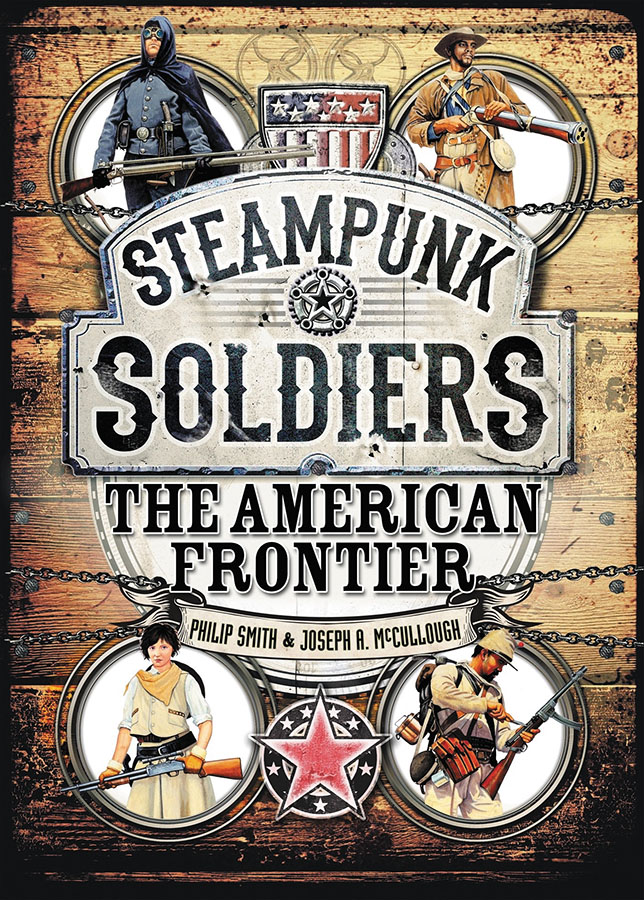 Steampunk Soldiers: The American Frontier Box Front