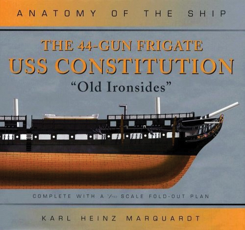 44 Gun Frigate Uss Constitution Old Ironsides Box Front