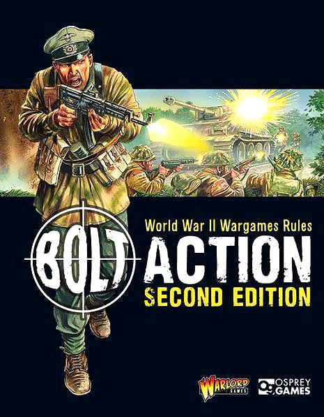 Bolt Action: World War Ii Wargames Rules - 2nd Edition Game Box