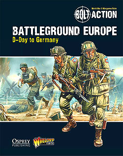 Bolt Action: Battleground Europe - D-day To Germany Box Front