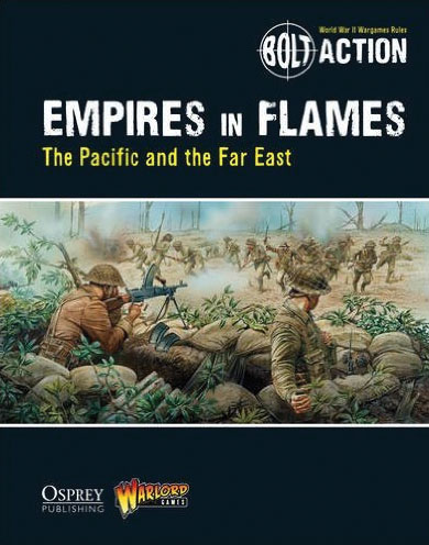 Bolt Action: Empire In Flames - The Pacific And The Far East Box Front