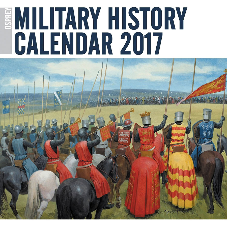 Osprey Military History Calender 2017 Box Front