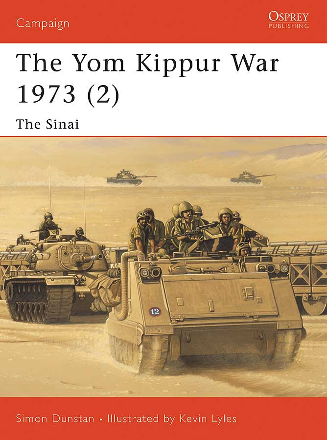 Yom Kippur War 1973 (2): The Sinai Box Front
