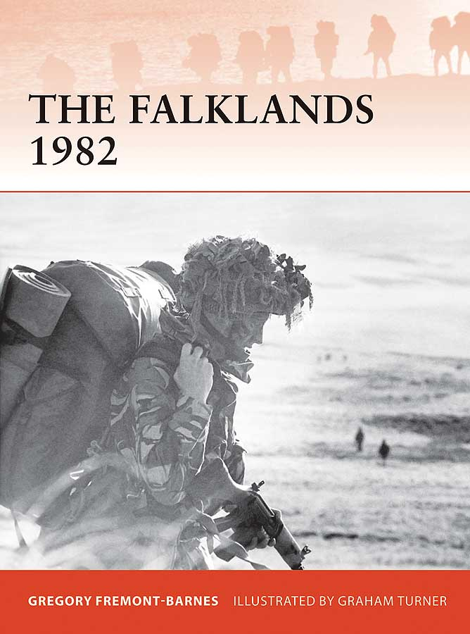 The Falklands 1982: Ground Operations In The South Atlantic Box Front