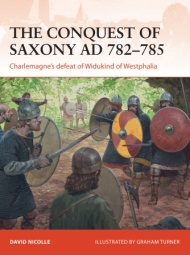 The Conquest Of Saxony 782-785 Ad Box Front